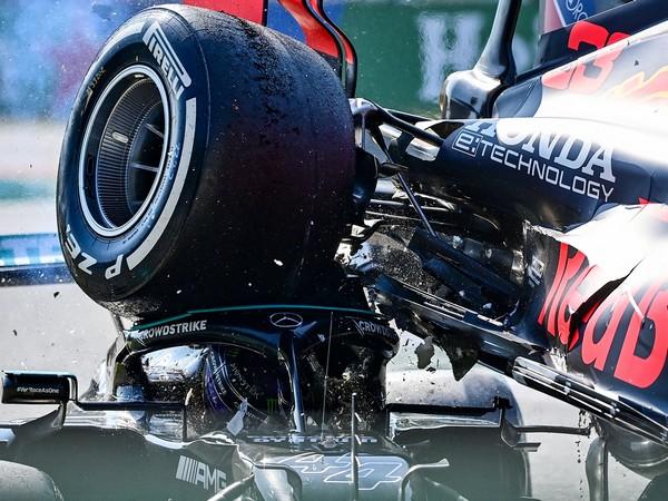 Lewis Hamilton's W12 (Photo: Twitter/ Formula 1)