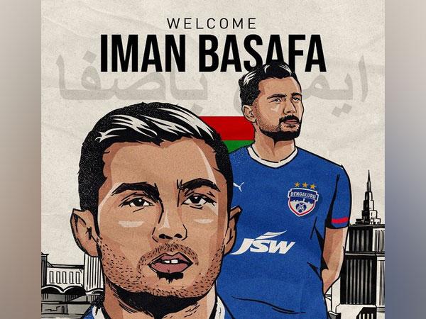 Iranian midfielder Iman Basafa (Image: Bengaluru FC)