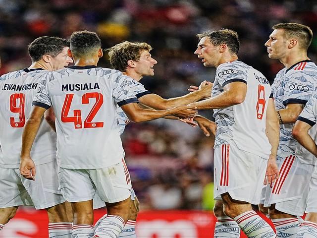 Bayern Munich defeat Barcelona (Photo/ Bayern Munich Twitter)
