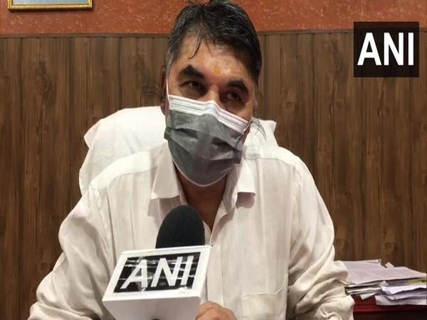 Ghaziabad CMO Dr Bhavtosh Shankhdhar (Photo/ANI)