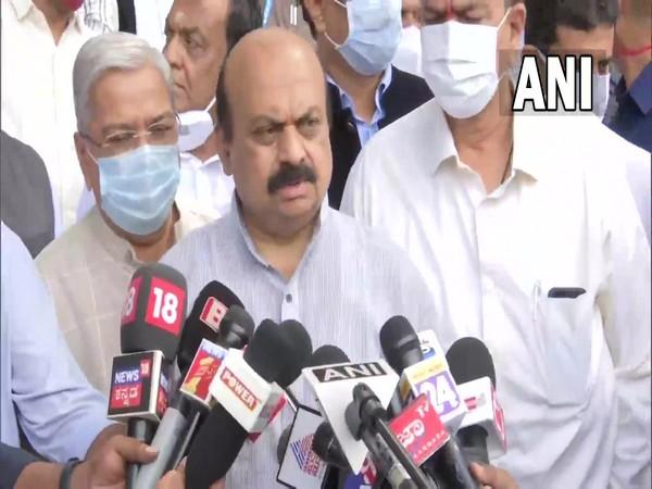 Karnataka CM, Basavaraj Bommai at the event (Photo/ANI)