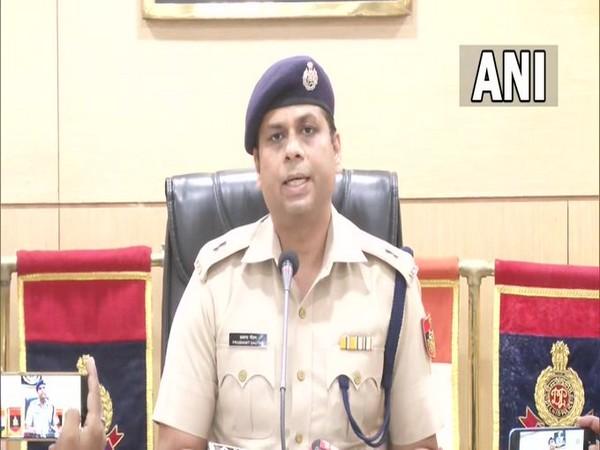 Prashant Gautam, Additional Deputy Commissioner of Police(DCP) West, Delhi(Photo/ANI)