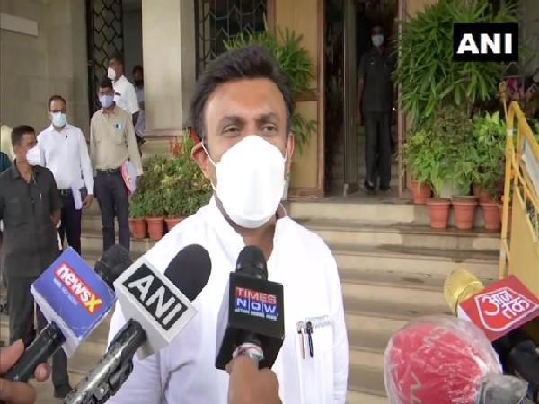 Karnataka Health Minister K Sudhakar (Photo/ANI)