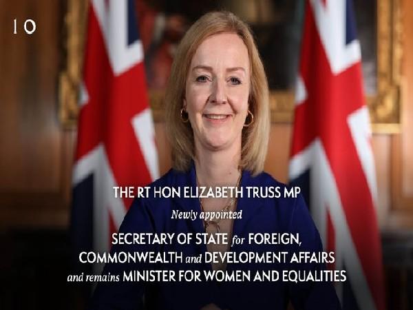 Elizabeth Truss (Photo credit: Twitter/UK government)