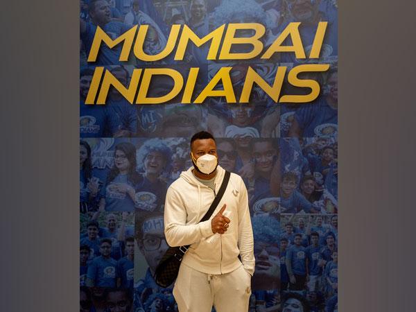 Kieron Pollard (Image: Mumbai Indians)