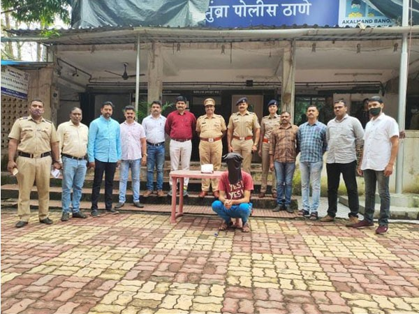 23 year old arrested from Thane on Friday. (Photo/ANI)