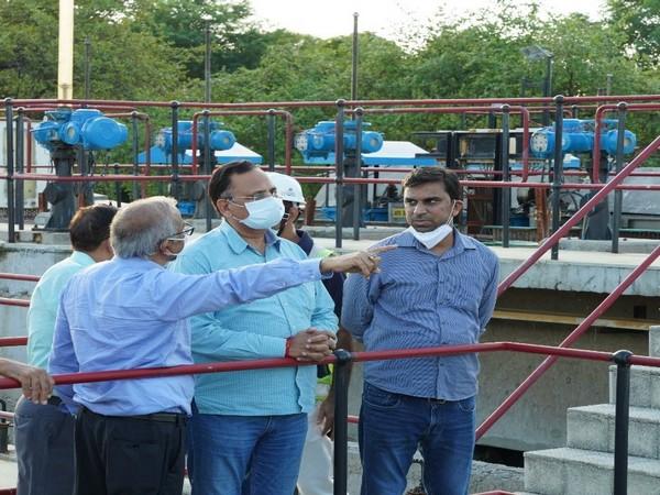 Delhi Water Minister Satyendar Jain (Photo/Twitter: @SatyendarJain)