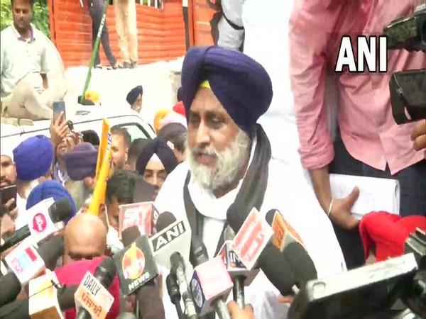 SAD chief Sukhbir Singh Badal (Photo/ANI)