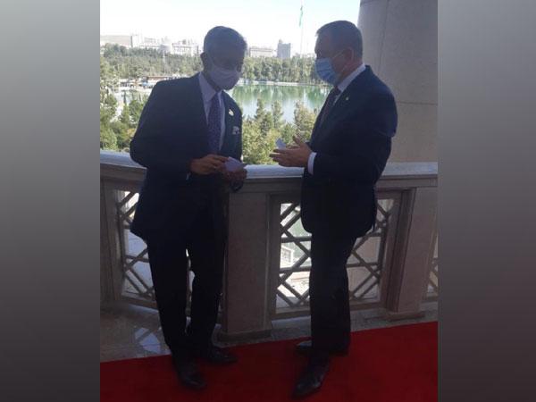External Affairs Minister (EAM) Dr S Jaishankar meets Belarus counterpart Vladimir Makei at Shanghai Cooperation Organisation (SCO) Summit in Dushanbe, Tajikistan