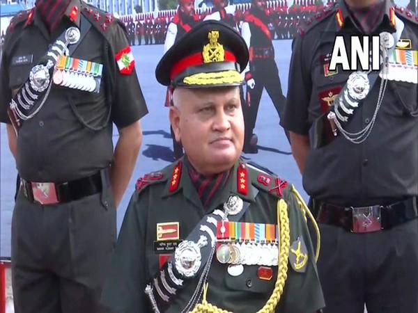Commandant of OTA in Chennai Lt Gen MK Das (Photo/ANI)