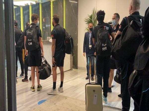 BlackCaps arrive in Dubai (Photo/ BlackCaps Twitter)