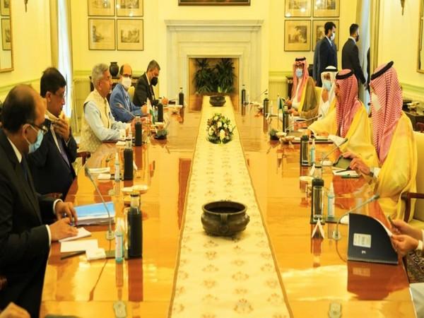 Jaishankar exchanges views on developments in Afghanistan with Saudi counterpart (Photo Credit: Twitter)