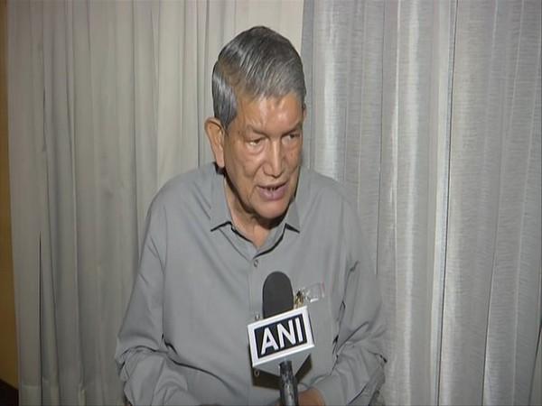Congress leader Harish Rawat speaking to ANI in Chandigarh on Sunday. [Photo/ANI]