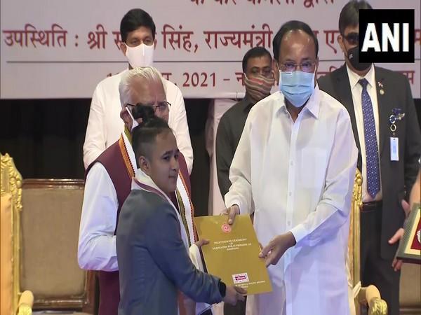 Vice President of India Venkaiah Naidu (Photo/ANI)