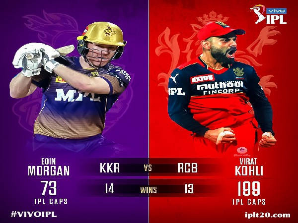 Eoin Morgan and Virat Kohli (Photo: Twitter/IPL)