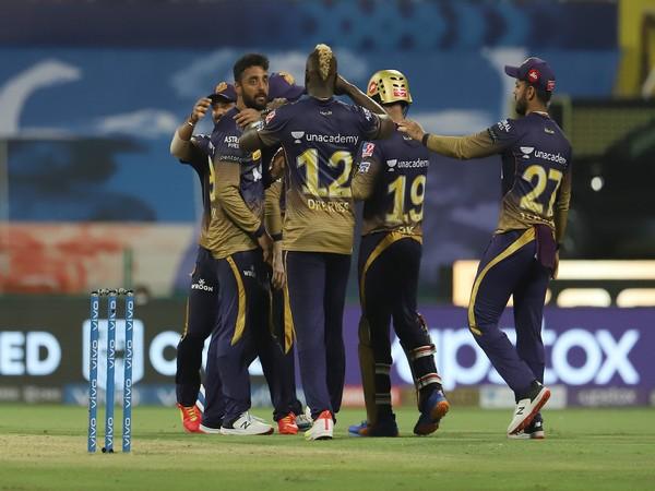 KKR players celebrating (Photo: Twitter/IPL)