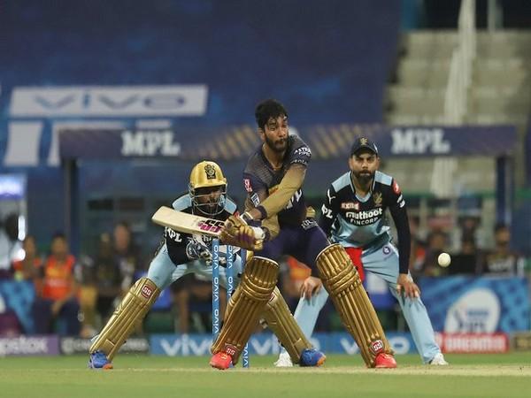 Venkatesh Iyer in action against RCB (Photo/ iplt20.com)