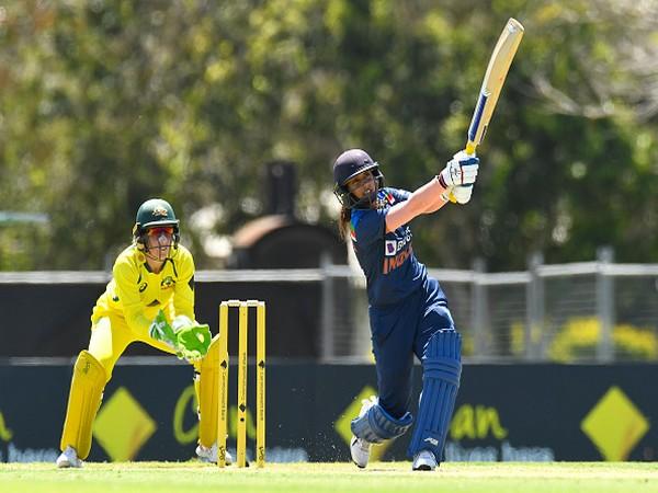 Mithali Raj in action against Australia (Photo/ BCCI Women Twitter)