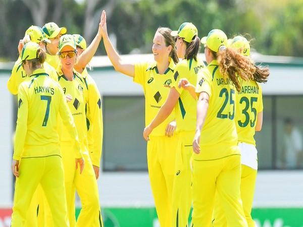 Australia in action against India (Photo/ ICC Twitter)
