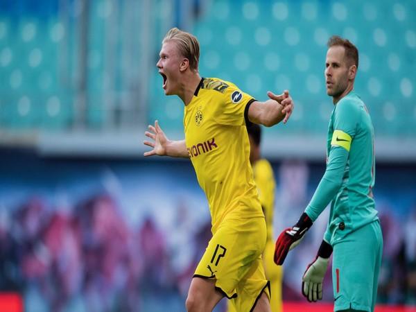 Borussia Dortmund's Erling Haaland. (Photo/ Borussia Dortmund Twitter)