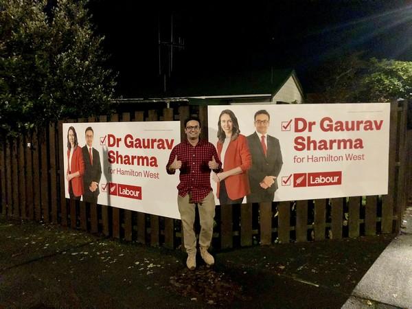New Zealand Indian-origin MP Dr Gaurav Sharma (Credit: Dr Gaurav Sharma MP/Twitter)