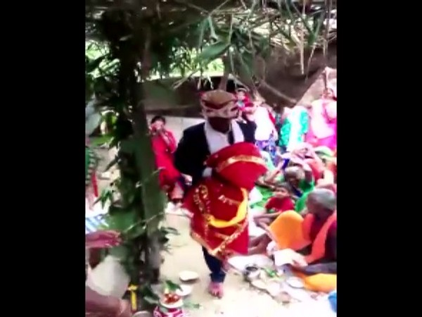 A man was married to an effigy in Ghurpur as per his father's wish