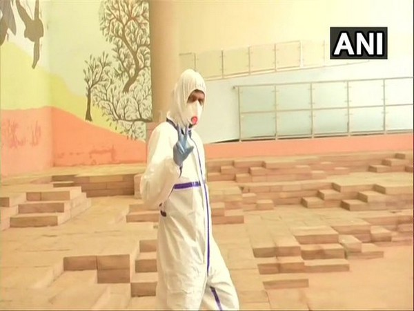 A Congress MLA who had tested positive for coronavirus had arrived donning a PPE suit to cast his vote at the state legislative assembly in Bhopal on Friday.