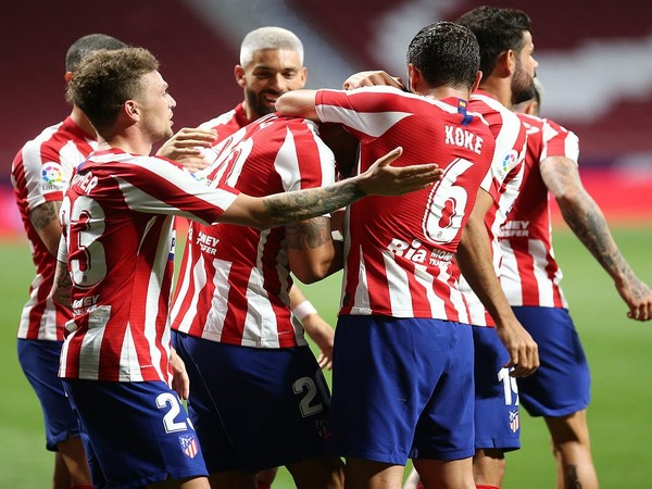 Atletico Madrid are placed on the third position on the La Liga table (Photo/ Atletico Madrid Twitter)