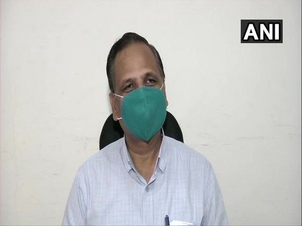 Delhi Health Minister Satyendar Jain. File photo/ANI