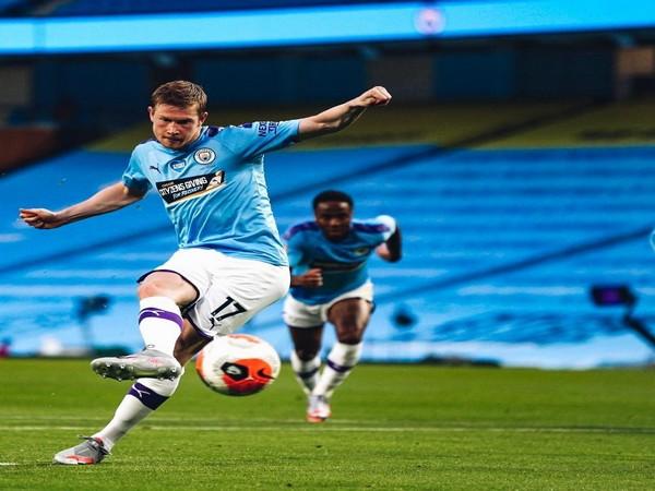 Manchester City's Kevin De Bruyne. (Photo/ Kevin De Bruyne Twitter)