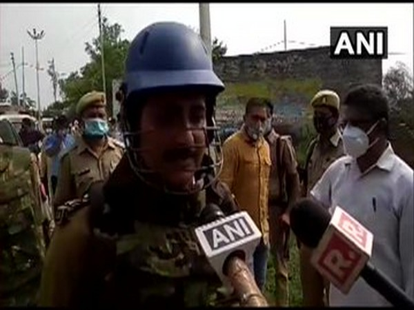 Mohit Agarwal, IG Kanpur speaking to reporters on Friday. (Photo/ANI)