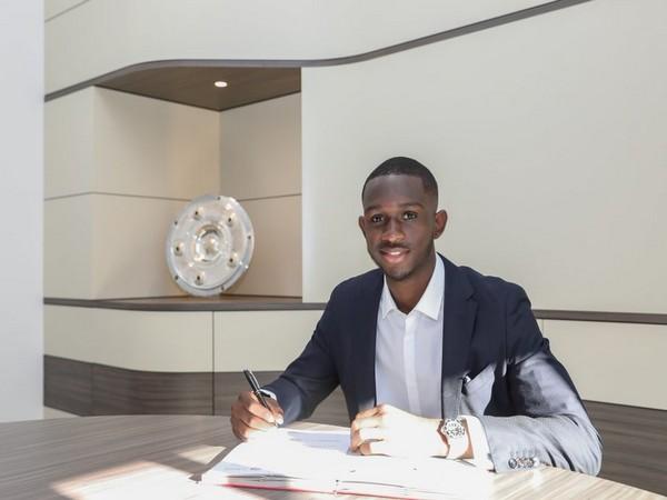 Tanguy Nianzou Kouassi. (Photo/ Bayern Munich Twitter)
