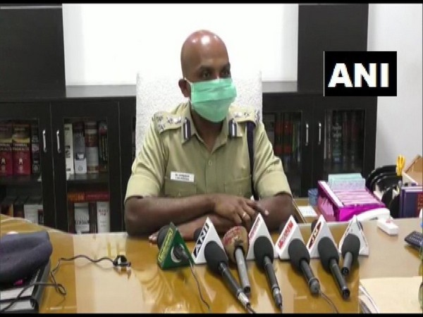 Trichy Zone DIG Balakrishnan speaks to media on Tuesday. [Photo/ANI]