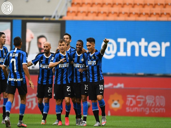 Inter Milan are on the third spot on Serie A table with 64 points. (Photo/ Inter Milan Twitter)