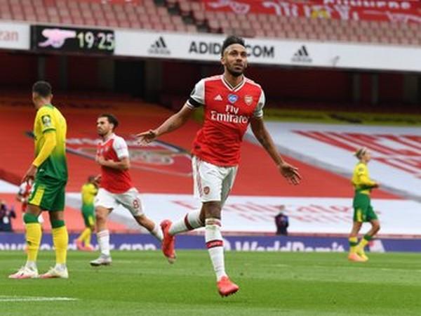 Arsenal's Pierre-Emerick Aubameyang. (Photo/ Arsenal Twitter)