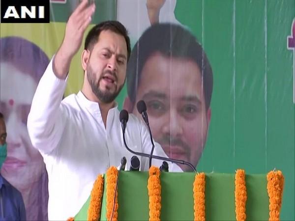 Rashtriya Janata Dal leader Tejashwi Yadav. (Photo/ANI)