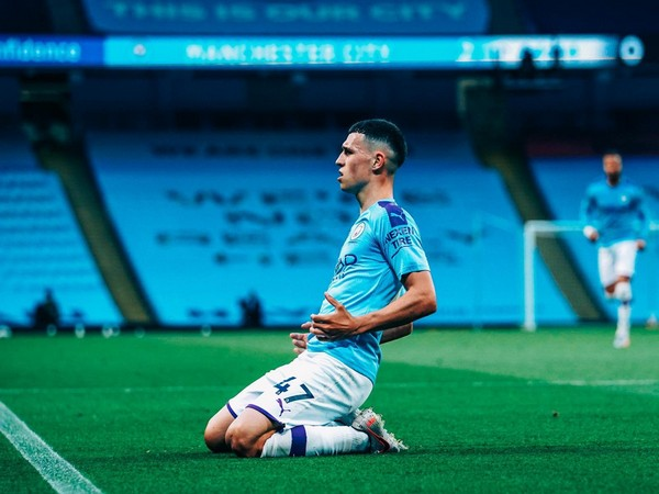 Manchester City's Phil Foden (Photo/ Phil Foden Twitter)