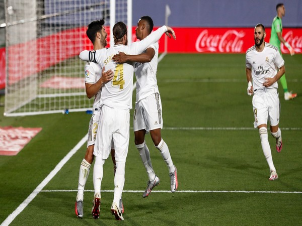 This was Real Madrid's sixth consecutive win in the competition. (Photo/ Real Madrid Twitter)