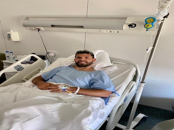 Manchester City's Sergio Aguero (Photo/ Sergio Aguero Twitter)