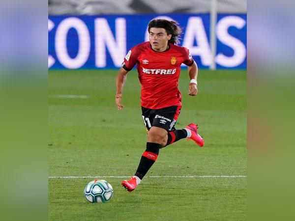 Real Mallorca's Luka Romero. (Photo/ Real Mallorca Twitter)