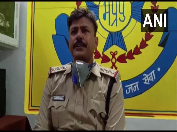 Vidisha Kotwali Station House Officer Virendra Jha (Photo/ANI)