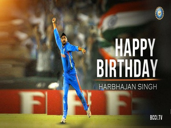 Ace cricketer Harbhajan Singh (Image Source: BCCI.TV)
