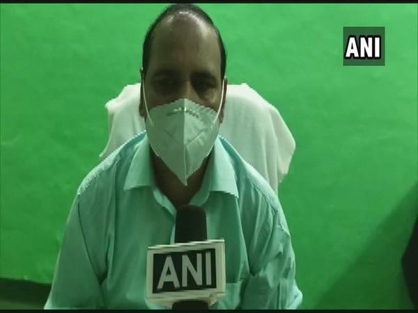 Dharchula SDM Anil Kumar Shukla speaking to ANI on Friday. Photo/ANI