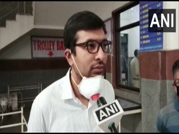 Rahul Yadav, District Magistrate, speaking to ANI on Friday.