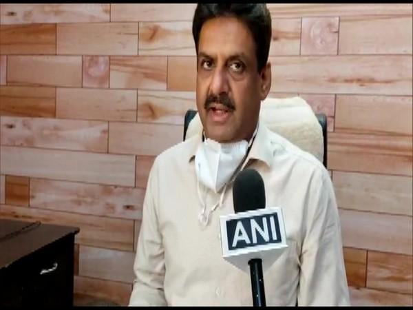 Snehdeep Sharma, AIG STF speaks to ANI in Ludhiana on Friday [Photo/ANI]