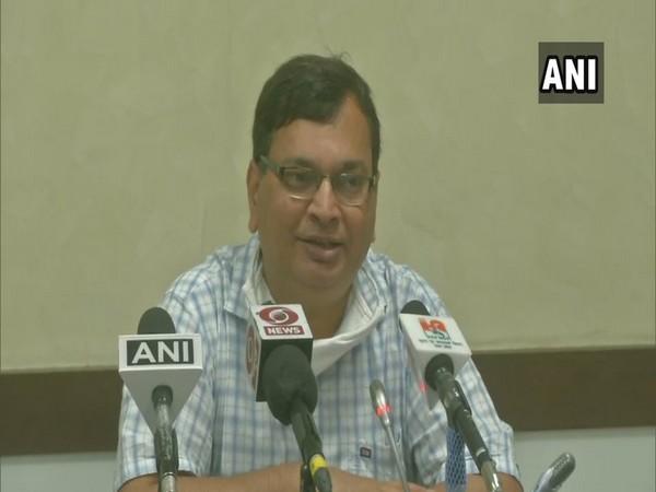 Uttar Pradesh Principal Secretary (Health) Amit Mohan Prasad (Photo/ANI)