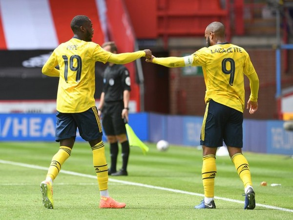 The victory propelled Arsenal into the semi-finals of the FA Cup. (Photo/ Arsenal Twitter)