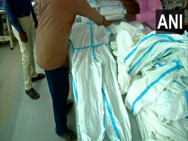 Coimbatore based textile manufacturing company develops reusable PPE coveralls (Photo/ANI)