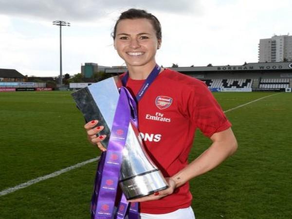 Viktoria Schnaderbeck. (Photo/ Arsenal Women Twitter)