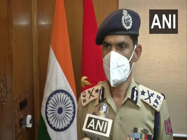 IG Kashmir Vijay Kumar speaking to ANI on Tuesday. (Photo/ANI)